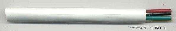 RVV(铜芯聚氯乙烯绝缘聚氯乙烯护套圆形连接软电线)